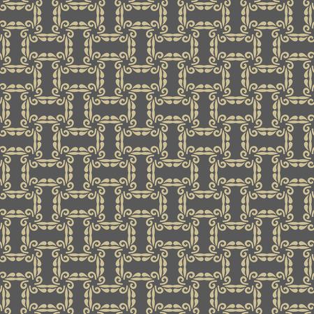 golden texture: Geometric fine abstract  background. Seamless modern gray and golden texture