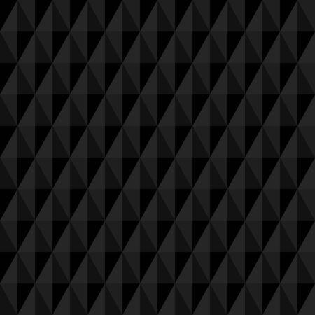 Geometrische fijne abstracte achtergrond. Naadloos modern donker patroon Stockfoto - 44409996