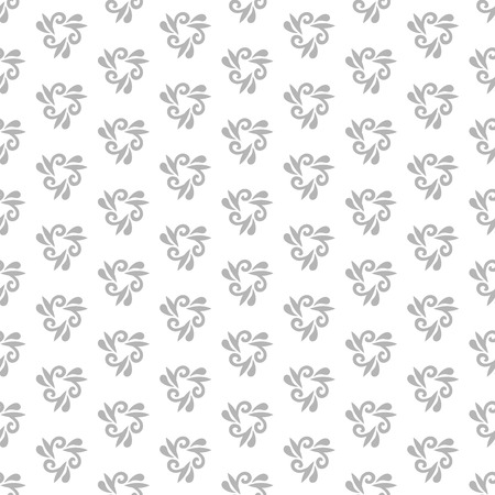 repeats: Floral vector ornament. Seamless abstract classic fine light pattern Illustration