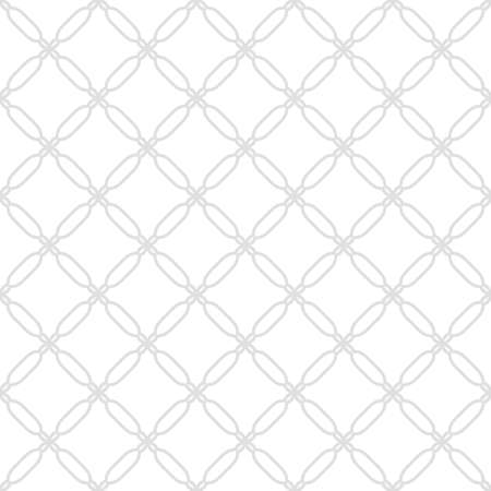 fine silver: Geometric vector ornament with oriental elements. Seamless fine silver pattern for wallpapers and backgrounds
