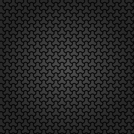 abstrakte muster: Muster mit nahtlosen dunklen Ornament. Moderne stilvolle geometrischen Hintergrund mit sich wiederholenden Elementen Lizenzfreie Bilder