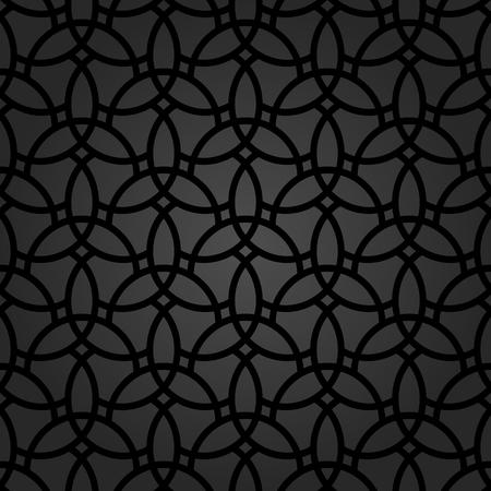 Fijn geometrisch patroon met oosterse elementen. Naadloze fijne ornament voor wallpapers en achtergronden