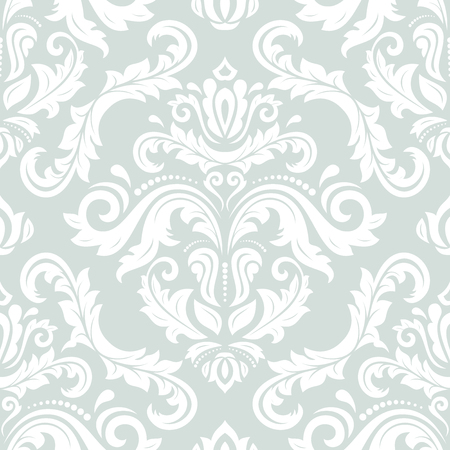 oriental vector: Oriental vector classic pattern. Seamless abstract background