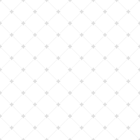 geometrical pattern: Geometric repeating vector ornament with diagonal silver dots. Seamless abstract modern pattern