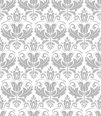 oriental vector: Oriental vector classic ornament. Seamless abstract pattern