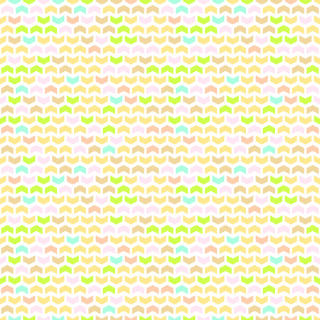 fine print: Geometric vector pattern with colorful arrows. Seamless abstract background
