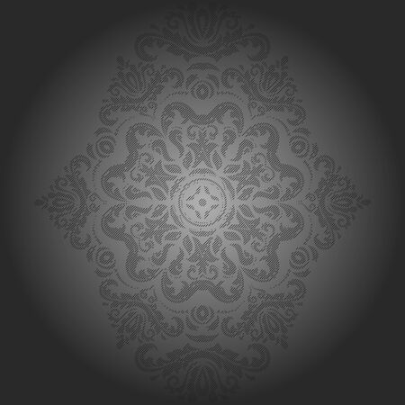 fine: Oriental  classic pattern. Seamless abstract fine background