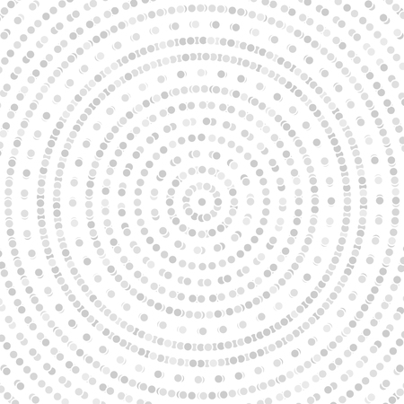 fine: Geometric modern vector pattern. Fine ornament with dotted silver circles