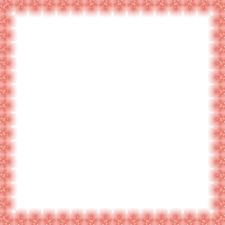 orient: Classic frame with arabesques and orient elements. Abstract fine ornament.