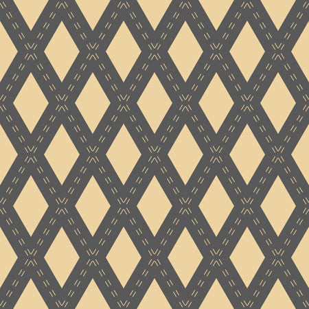 fine: Geometric fine abstract vector background. Seamless modern pattern