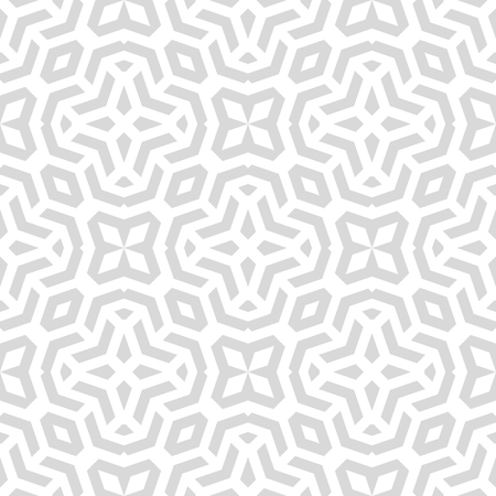 fine: Geometric fine abstract vector background. Seamless modern light silver pattern Illustration