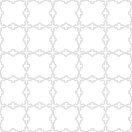 fine silver: Geometric ornament with oriental elements. Seamless grill with fine silver pattern for wallpapers and backgrounds