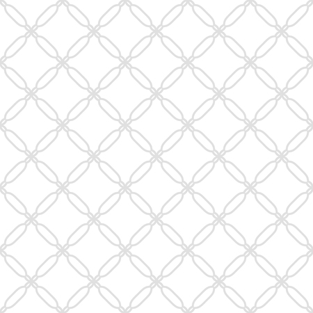 fine silver: Geometric ornament with oriental elements. Seamless fine silver pattern for wallpapers and backgrounds