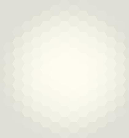 geometricos: vector de fondo abstracto geométrico. Modelo con los hexágonos de color amarillo claro y el efecto del flujo Vectores