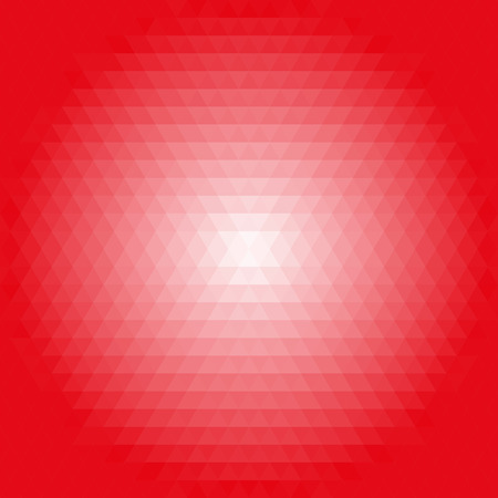 tred: Geometric abstract vector backgroundred and pink triangles. Pattern with flow effect