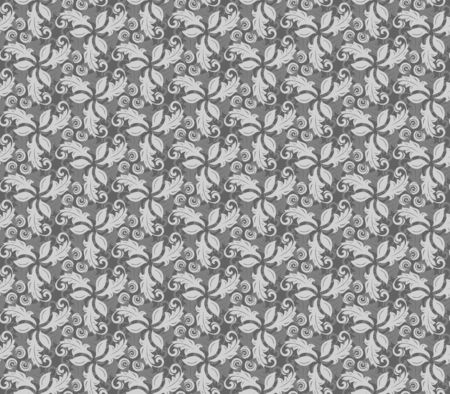 fine: Floral ornament. Seamless abstract classic fine pattern