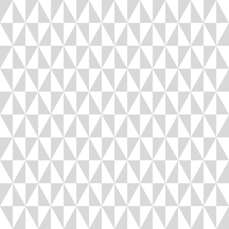 Geometric vector pattern with gray and white triangles. Seamless abstract background