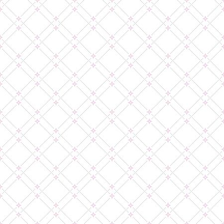 dotted lines: Geometric repeating vector ornament with diagonal dotted lines. Seamless abstract modern pattern