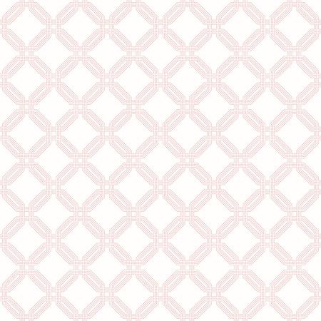 fine: Geometric fine abstract vector octagonal pink background. Seamless modern pattern