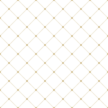 dotted lines: Geometric repeating vector ornament with diagonal dotted lines. Seamless abstract modern light pattern Illustration