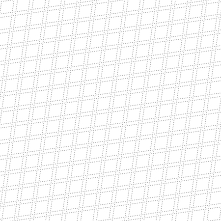 dotted lines: Geometric repeating vector ornament with diagonal gray dotted lines. Seamless abstract modern pattern Illustration