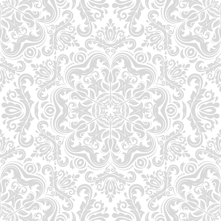 oriental vector: Oriental vector classic ornament. Seamless abstract background