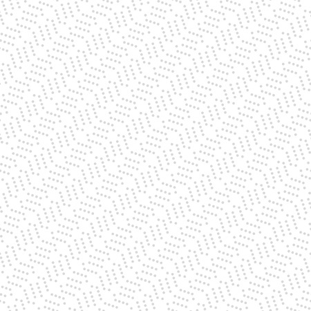 usual: Geometric vector ornament with light silver dotted pattern. Seamless abstract background Illustration