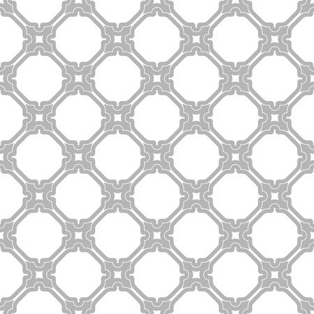 Nahtlose Vektor-Silber-Schmuck im arabischen Stil. Muster für Tapeten und Hintergründe