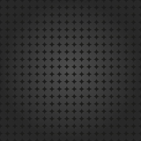 fine: Seamless geometric modern vector dark pattern. Fine ornament with dotted elements Illustration