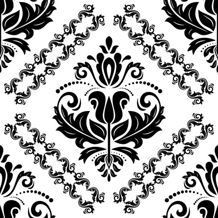 Oriental classic ornament. Seamless abstract pattern. Fine orient background for design and decorate