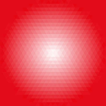 tred: Geometric abstract backgroundred and pink triangles. Pattern with flow effect