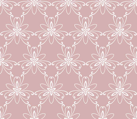 fine: Floral colored ornament. Seamless abstract classic fine pattern Stock Photo