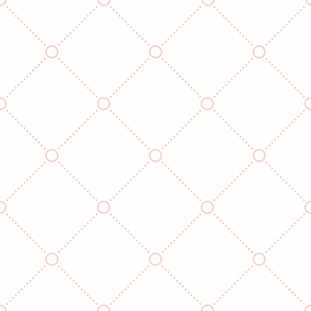 diagonal lines: Geometric repeating vector ornament with diagonal dotted lines. Seamless abstract modern pattern. Pink pattern