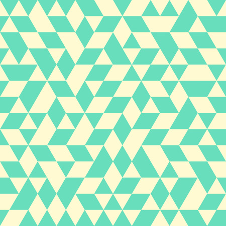 grid pattern: Geometric vector pattern with colored triangles. Seamless abstract background