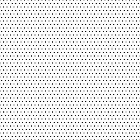 modèle vectoriel géométrique Seamless. ornement moderne avec des éléments en pointillés. motif noir et blanc Vecteurs