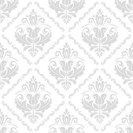 royal background: Oriental classic bright ornament. Seamless abstract background with repeating elements Stock Photo