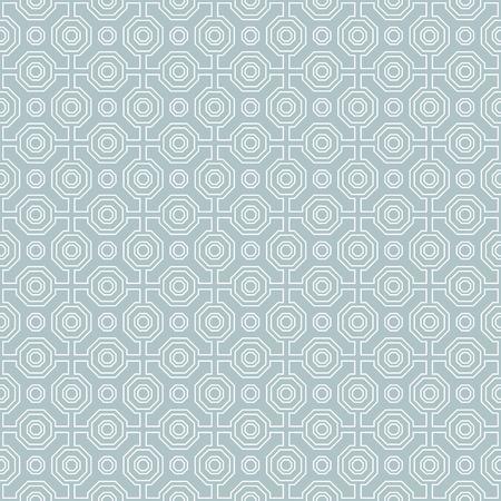 octogonal: resumen de antecedentes vector octogonal fina geométrica. modelo moderno sin fisuras. Modelo azul y blanco