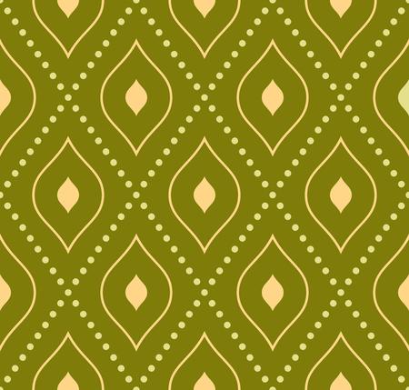 Geometric abstract vector pattern. Seamless modern background. Golden pattern