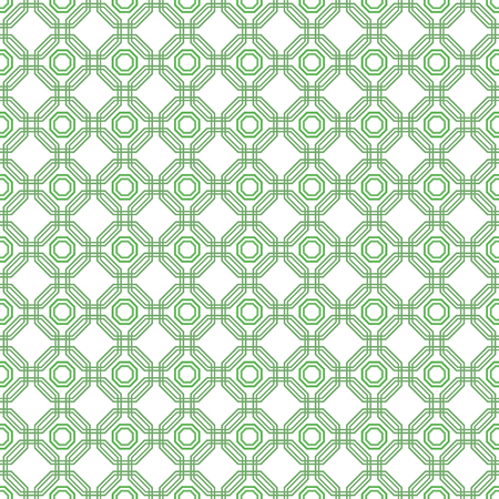 octagonal: Geometric green abstract octagonal background. Seamless modern pattern