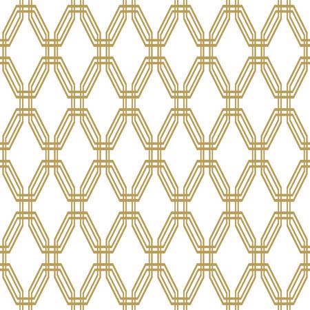 octagonal: resumen de vectores de fondo de oro fino octogonal geométrica. modelo moderno sin fisuras Vectores