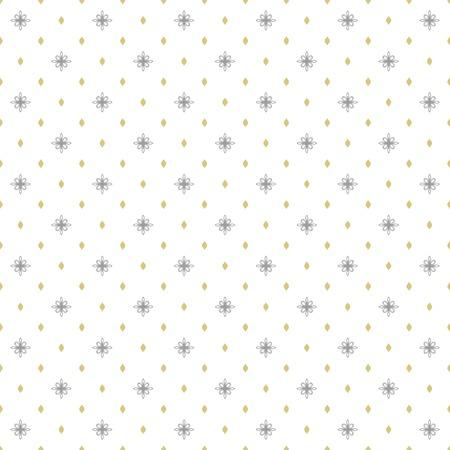 Motif de vecteur géométrique sans soudure. Ornement moderne avec des éléments en pointillés. Motif abstrait géométrique