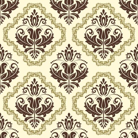 royal: Classic seamless vector pattern. Traditional orient ornament. Classic vintage background