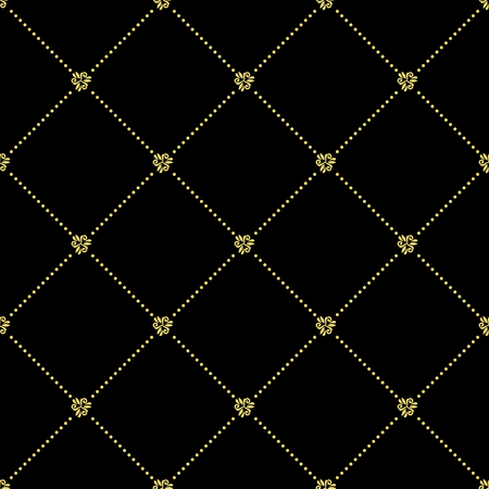 Seamless classic golden pattern. Traditional orient ornament. Classic vintage background Stock Photo