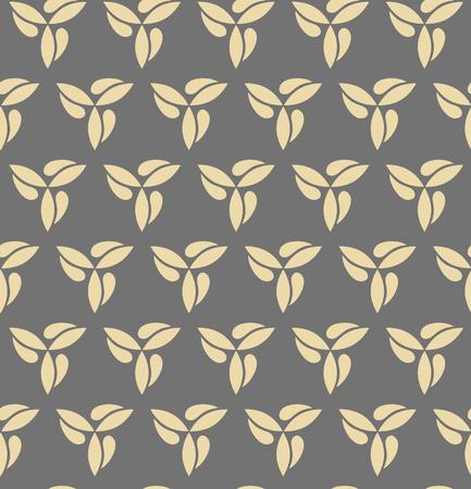 regular: Seamless vector golden ornament. Modern background. Geometric modern pattern