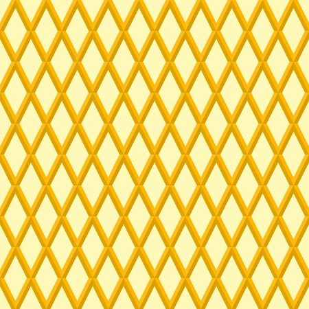 Geometric abstract vector golden pattern. Geometric modern ornament. Seamless modern background Illustration