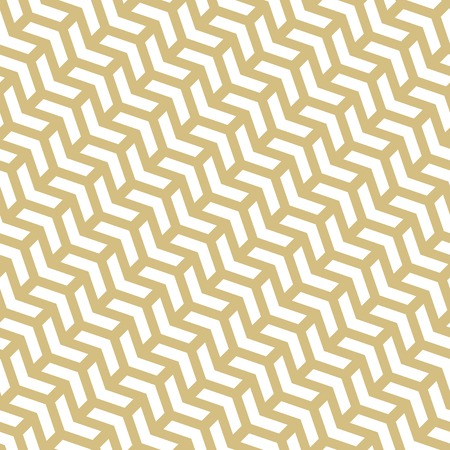 Geometric vector pattern with white arrows. Geometric modern ornament.