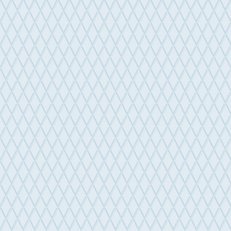 Seamless background. Modern ornament with volume repeating light blue rhombuses. Geometric pattern