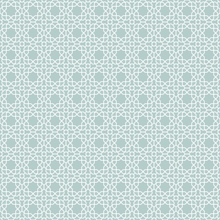 Seamless background for your designs. Modern vector light blue and white ornament. Geometric abstract pattern
