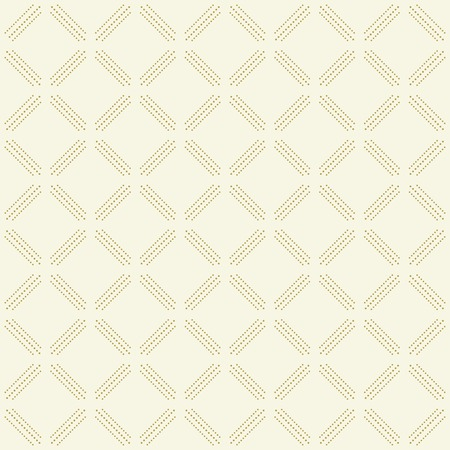Geometric dotted vector pattern. Seamless abstract light golden modern texture for wallpapers and backgrounds