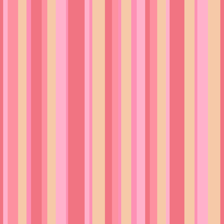 Abstract vector wallpaper with strips. Seamless colored background with red and pink vertical lines. Geometric pattern Illusztráció